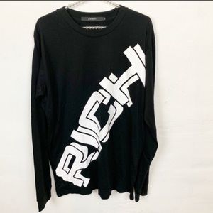 Joyrich Men's Spellout Block Letter Long Sleeve